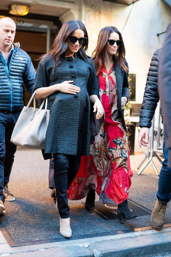 Baby shower księżnej Meghan Abigail Spencer, księżna Meghan w ciąży