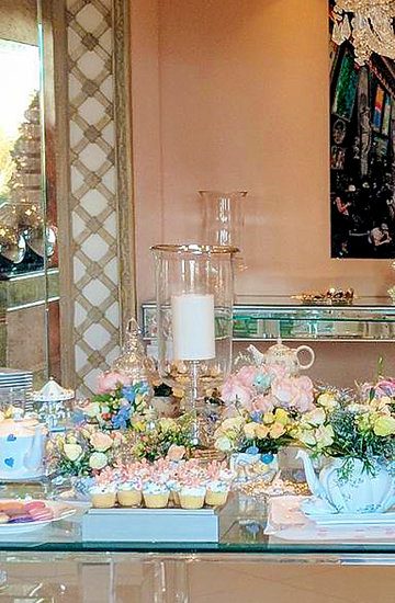 Baby Shower Nicky Hilton, Paris Hilton
