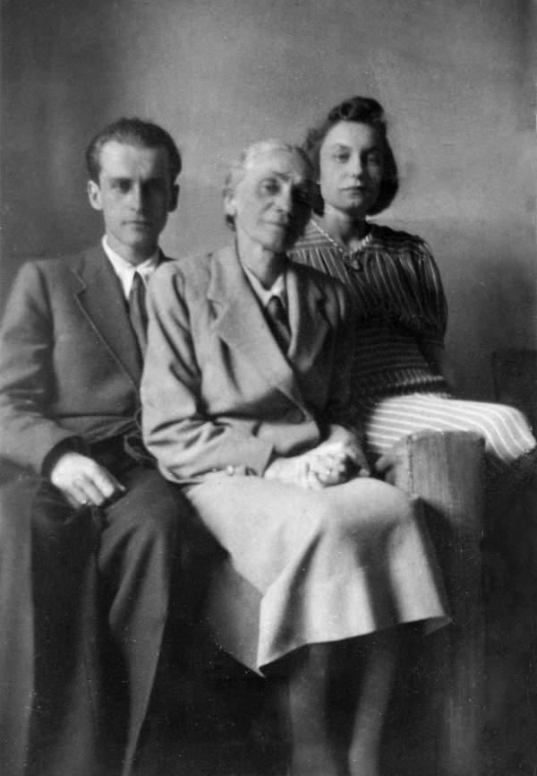 baczyńscy z mamą Krzysztofa