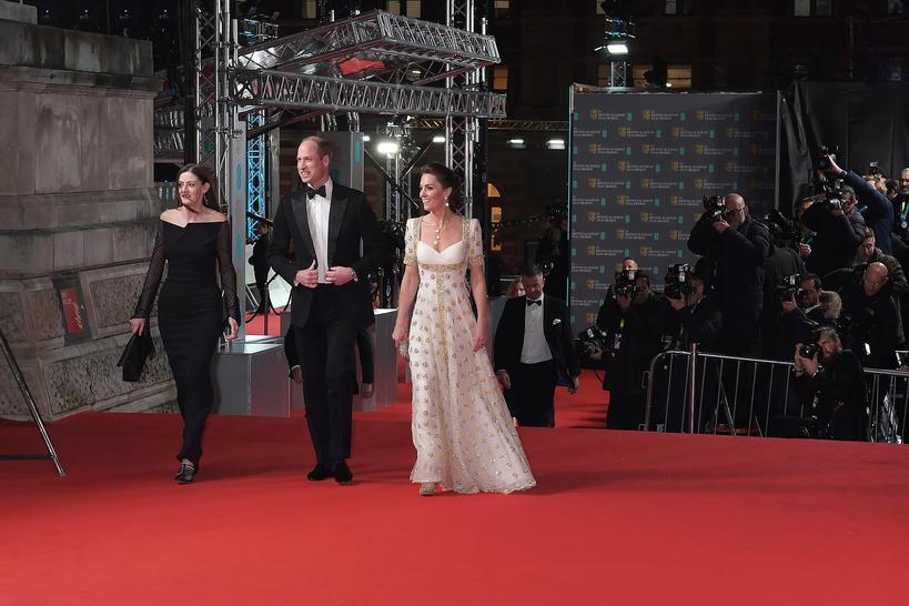 BAFTA 2020 KSIĘŻNA KATE I KSIĄŻĘ WILLIAM