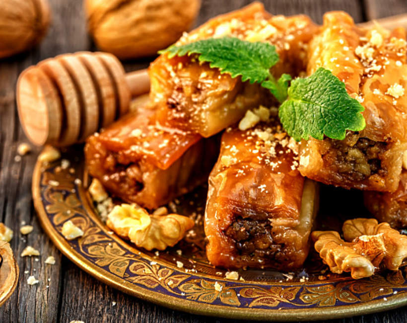 Baklava - deser dla bogatych