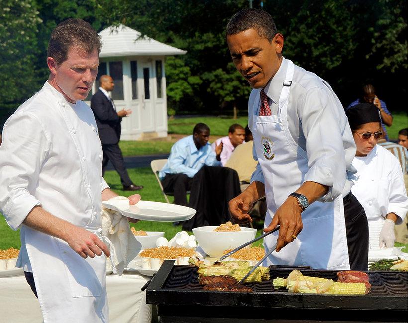 Barack Obama na grillu