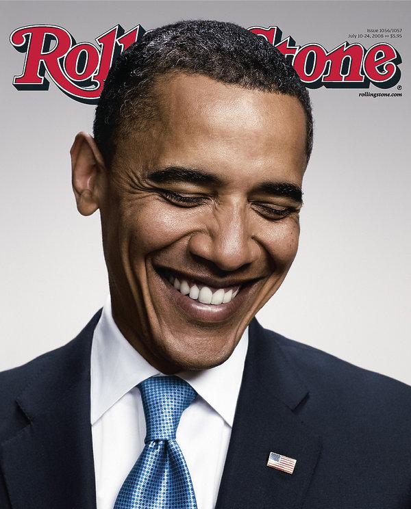 Barack Obama na okładce Rolling Stone