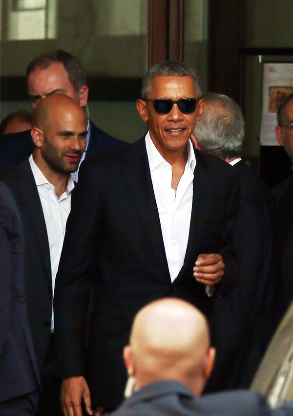 Barack Obama w Mediolanie