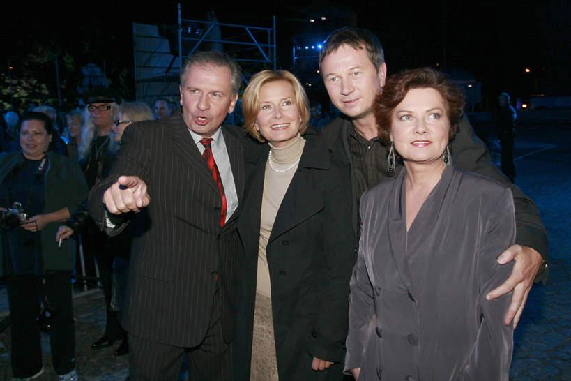 Barbara Bursztynowicz, Agnieszka Kotulanka, Tomasz Stockinger, Piotr Cyrwus, 2007 rok