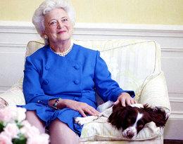 Dramat byłej pierwszej damy!Barbara Bush jest poważnie chora, ale odmawia leczenia