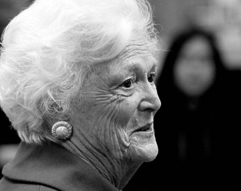 Barbara Bush nie żyje