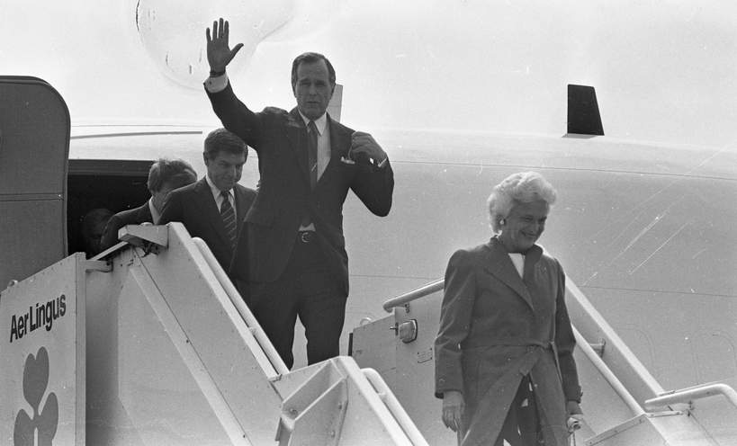 Barbara i George Bush historia miłości