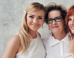 Barbara Kurdej-Szatan, Basia Kurdej-Szatan z mamą i córką, Viva! 8/2019