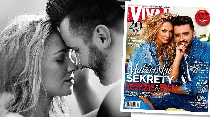 Barbara Kurdej-Szatan, Rafał Szatan, okładka, VIVA! kwiecień 2017