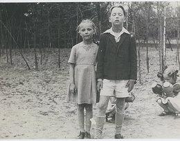 Barbara Młynarska-Ahrens, Wojciech Młynarski, rok 1951, Komorów