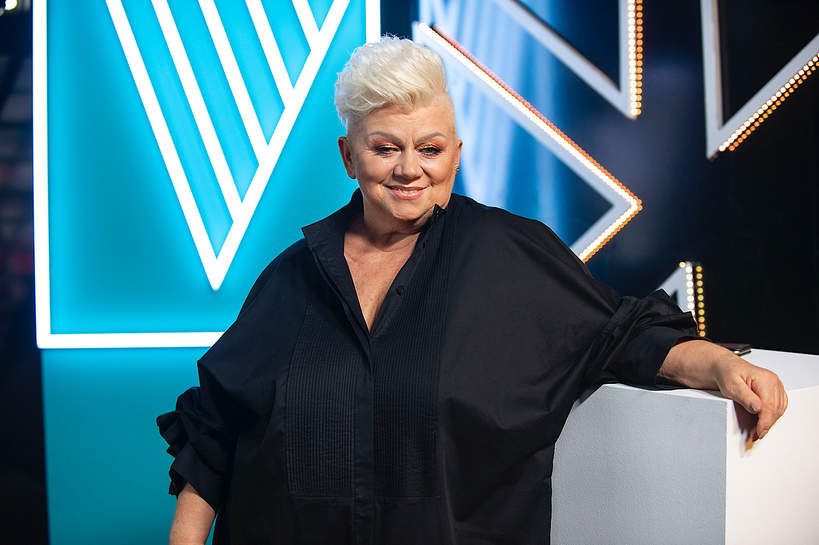 Barbara Parzeczewska Voice Senior 2, mąż