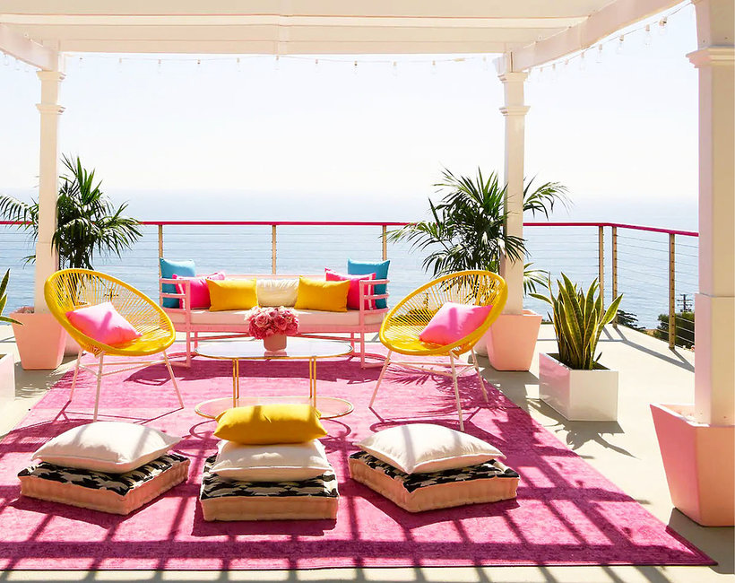 Barbie Malibu Dreamhouse, dom do wynajęcia na airbnb