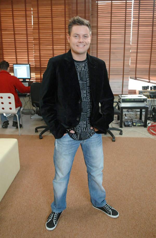 Bartek Wrona z Just 5, 2008
