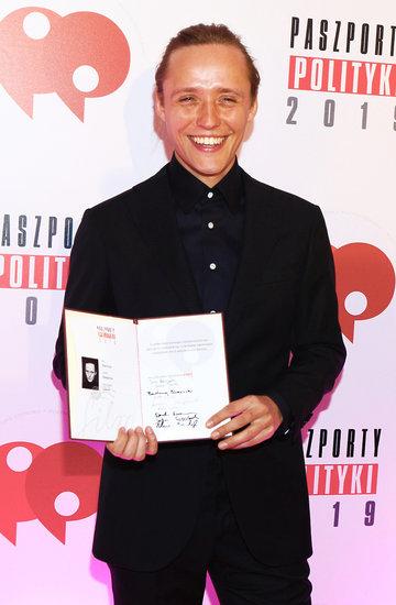 Bartosz Bielenia, Paszporty Polityki 2019