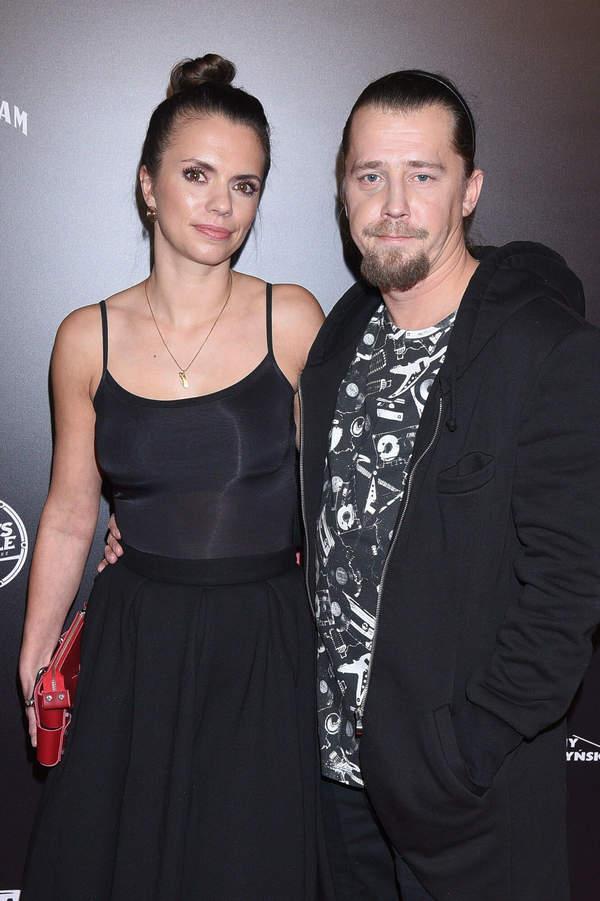 Bartosz Obuchowicz z żoną, Katarzyną, 2019 rok