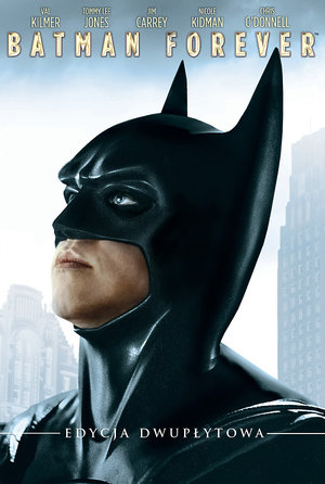 Batman Forever, plakat filmu, Galapagos Films
