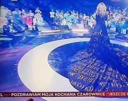 Beata Kozidrak, jubileusz Bajmu - screen TV
