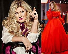 Beata Kozidrak zachwyca w mikołajkowej stylizacji! Czerwona sukienka to idealny fason na Święta