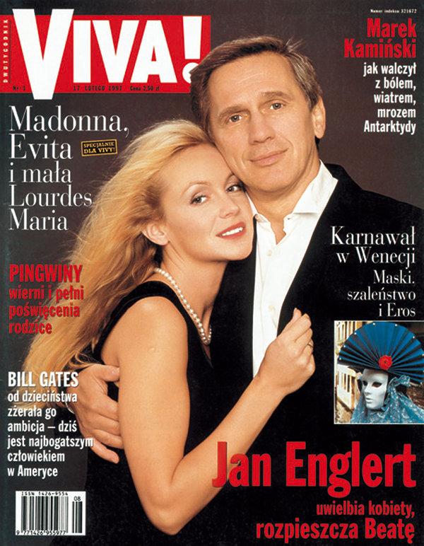 Beata Ścibakówna i Jan Englert, Viva! luty 1997