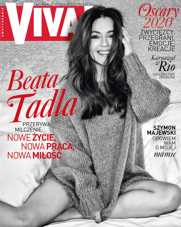 Beata Tadla, Viva! 4/2020 okładka