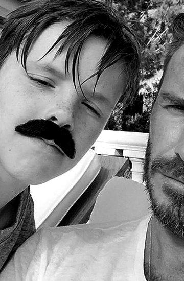 Beckhamowie Instagram
