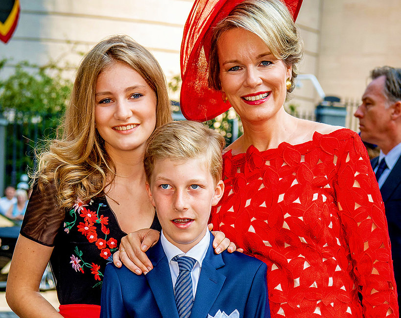Belgijska rodzina królewska, księżniczka Elisabeth, królowa Matylda, książę Emmanuel
