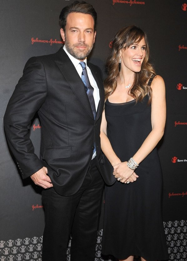Ben Affleck i Jennifer Garner na 2. Save The Children Illumination Gala