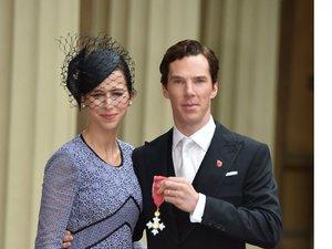 Benedict Cumberbatch, Sophie Hunter pozują do zdjęć