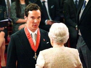 Benedict Cumberbatch wyróżniony przez Elżbietę II