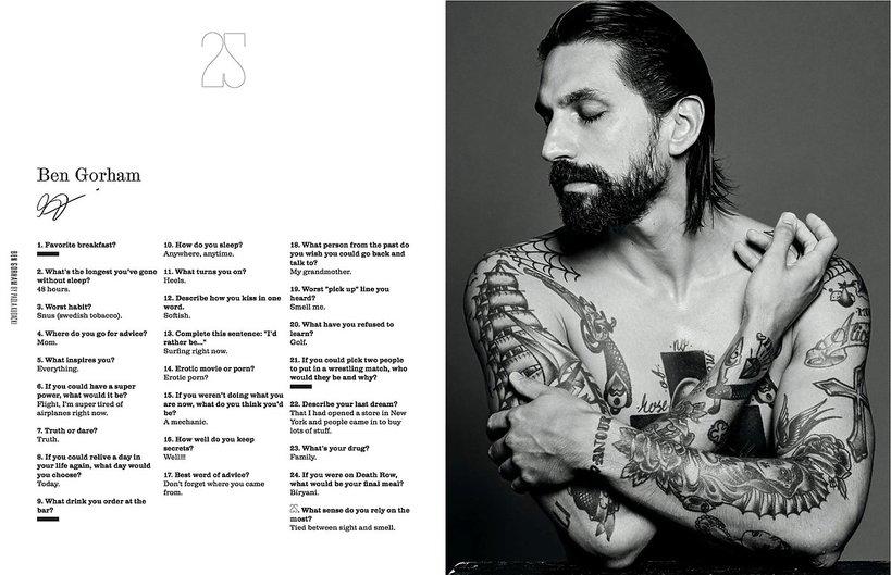 BenGorham w 25 magazine