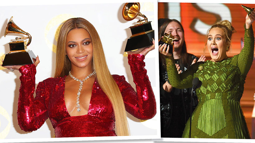 Beyonce i Adele Grammy 2017 MT