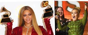 Adele doprowadziła do płaczu Beyonce! Co wydarzyło się podczas tegorocznej gali rozdania nagród Grammy?