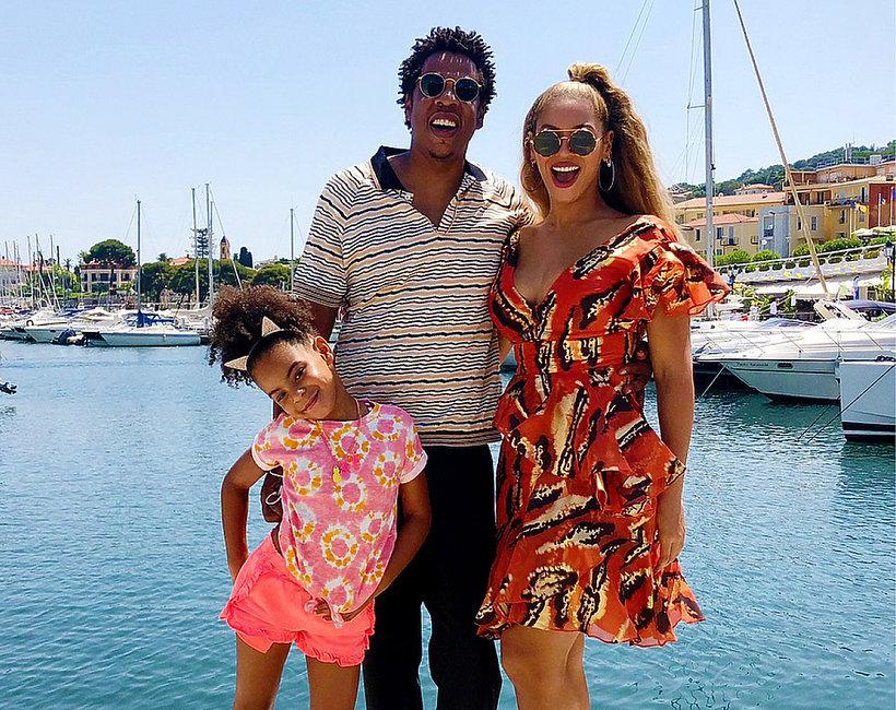 Beyonce, Jay-Z, Blue Ivy Carter