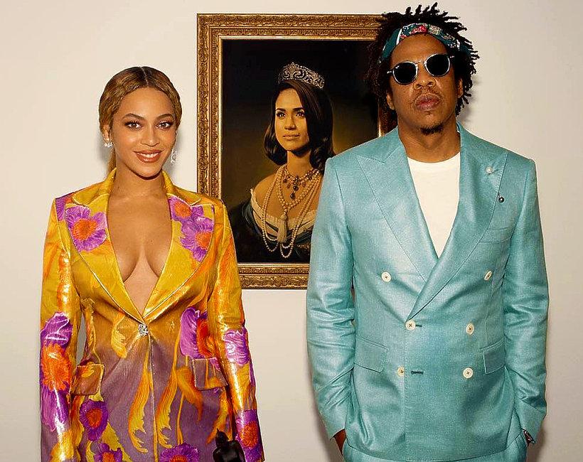 Beyonce, Jay Z, księżna Meghan jako królowa
