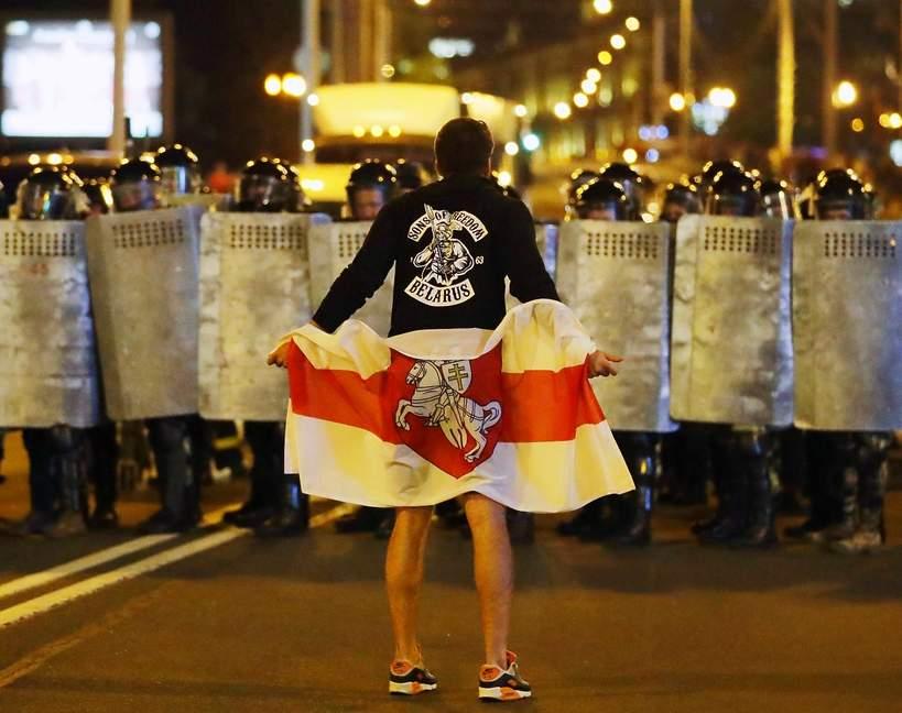 Białoruś, protesty na Białorusi