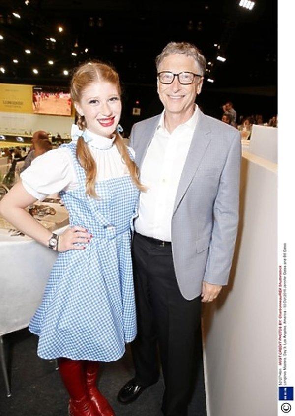 Bill Gates z córką