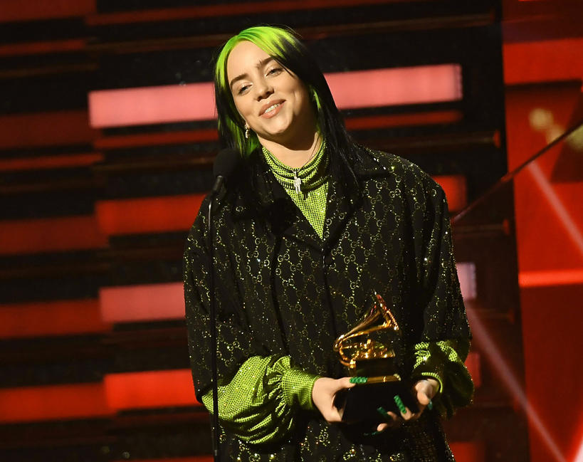 Billie Eilish, Grammy 2020
