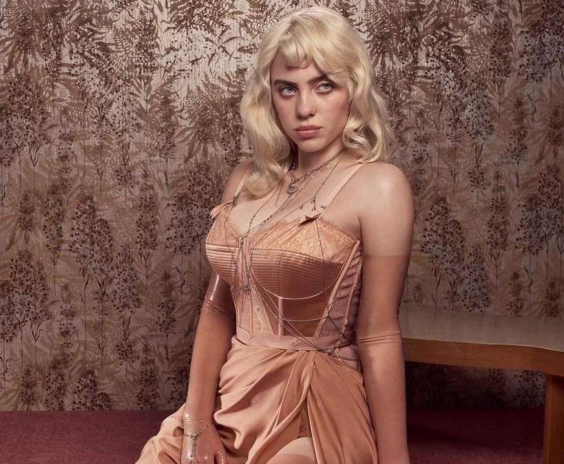 Billie Eilish Vogue okładka 2021