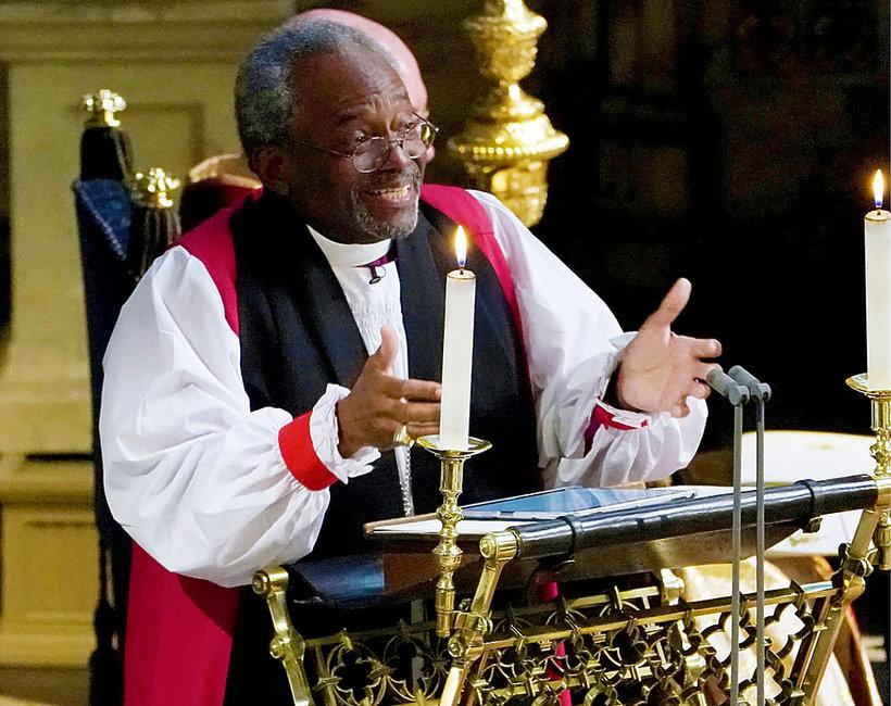 Biskup Michael Curry, ksiądz na ślubie księcia Harry'ego i Meghan Markle