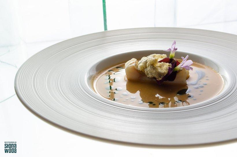 Bisque z raków - Słona Woda.Fine Dining Week