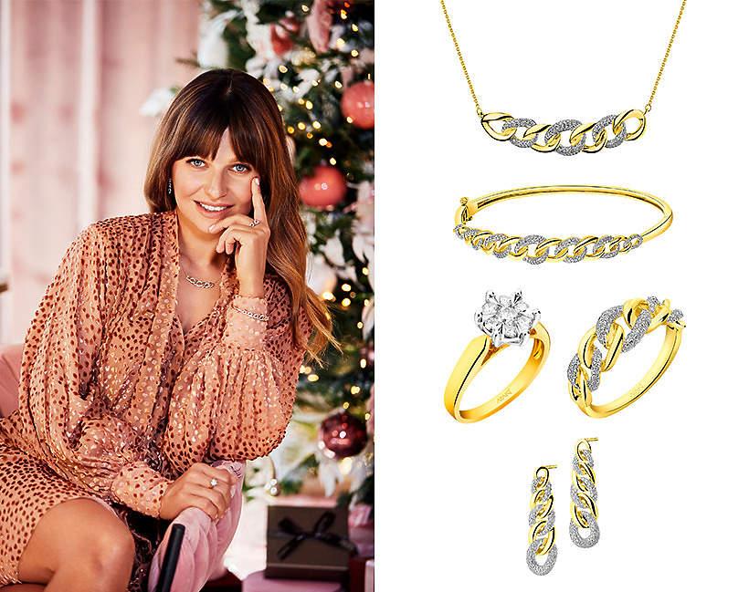 Biżuteria Apart w stylu glamour