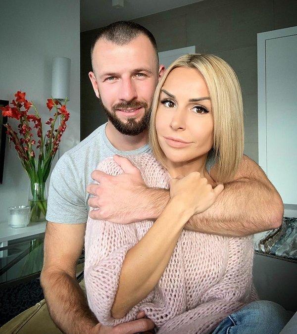 Blanka Lipińska i Maciej Buzała