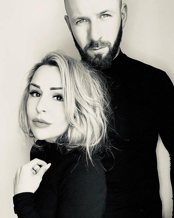 Blanka Lipińska partner, Maciej Buzala