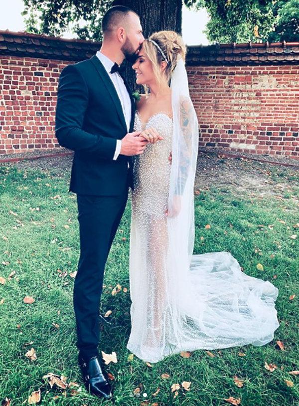Blanka Lipińska ślub