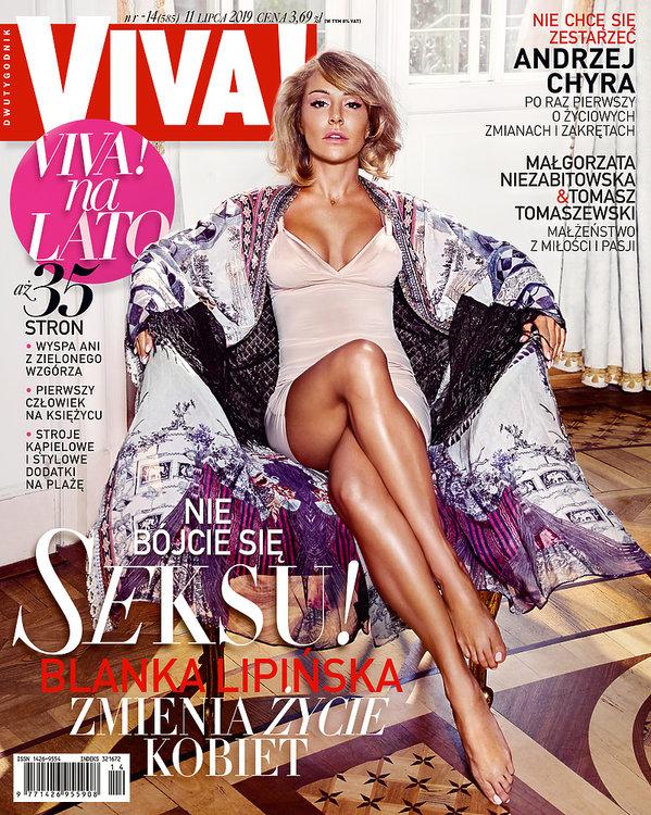 Blanka Lipińska, Viva! 14/2019, okładka