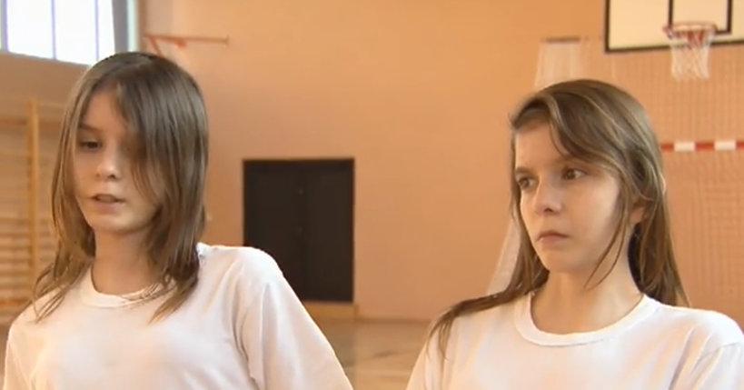 Bliźniaczki Olga i Daria z Janikowa