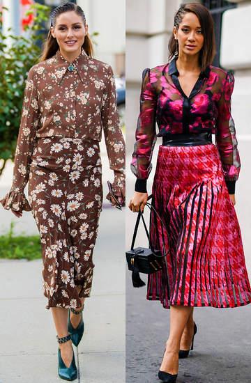 bluzki-w-kwiaty-jak-nosic-je-ze-spodnica2