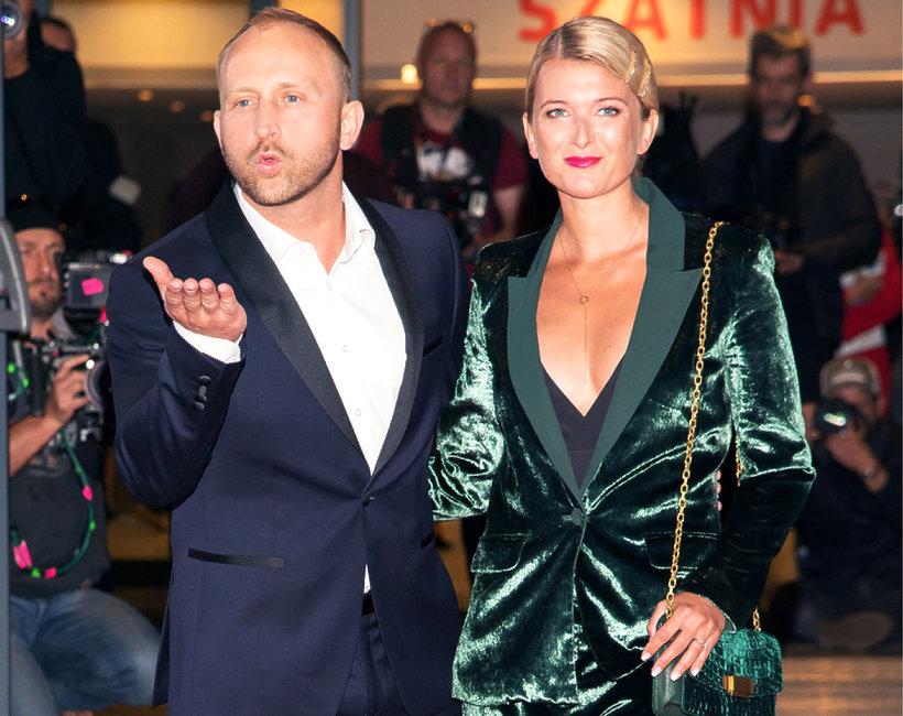 Borys Szyc i Justyna Nagłowska na Festiwalu filmowym w Gdyni 2019