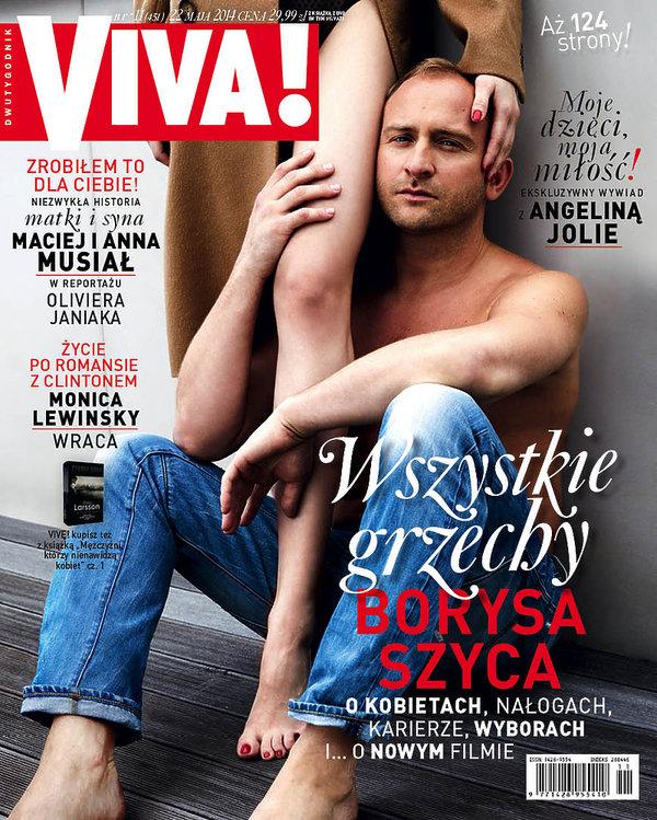 Borys Szyc, VIVA! maj 2014